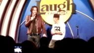 Justin Bieber on Stage with Chris D'Elia!